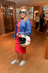 MAIA NORMAN at a party to celebrate the launch of Le Jardin de Monsieur Li by Hermes in association with Mr Fogg's was held at Hermes, 155 New Bond Street, London on 9th July 2015.