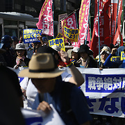 Anti-nuclear Protest In Hiroshima 2018