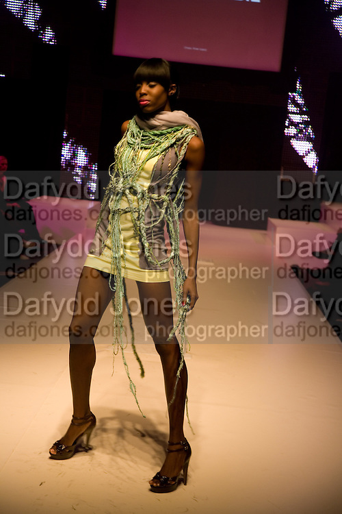 FASHION SHOW, FashionExpo, fashion show and Awards. Business Design Centre, Upper st. London. 19 November 2008.  *** Local Caption *** -DO NOT ARCHIVE -Copyright Photograph by Dafydd Jones. 248 Clapham Rd. London SW9 0PZ. Tel 0207 820 0771. www.dafjones.com