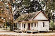 Original slave quarters at Middleton Place Plantation in Charleston, SC.