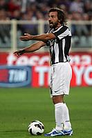 """Andrea Pirlo Juventus Adam Ljajic Fiorentina<br /> Firenze 25/09/2012 Stadio """"Franchi""""<br /> Football Calcio Serie A 2012/13<br /> Fiorentina v Juventus<br /> Foto Insidefoto Paolo Nucci"""