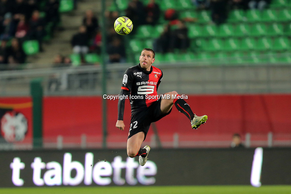 Sylvain ARMAND  - 07.03.2015 -  Rennes / Metz -  28eme journee de Ligue 1 <br />