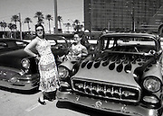 Moments from the car show at Viva Las Vegas 2002.