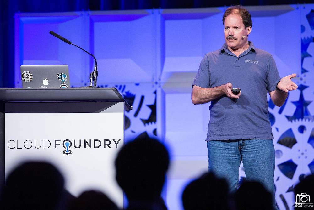 The Linux Foundation hosts its Cloud Foundry Summit at the Santa Clara Convention Center in Santa Clara, California, on May 25, 2016. (Stan Olszewski/SOSKIphoto)