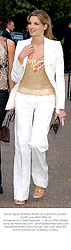 Social figure JEMIMA KHAN, at a party in London on 9th July 2002.	PBX 34