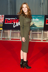 © Licensed to London News Pictures. 23/09/2016. CHARLOTTE SPENCER attends the Swiss Army Man and Imperium film premier's  at the Empire Live gala screening, London, UK. Photo credit: Ray Tang/LNP