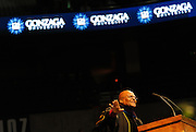 Most Reverand Archbishop Desmond Tutu gives the 2012 Undergraduate Commencement Address.<br />