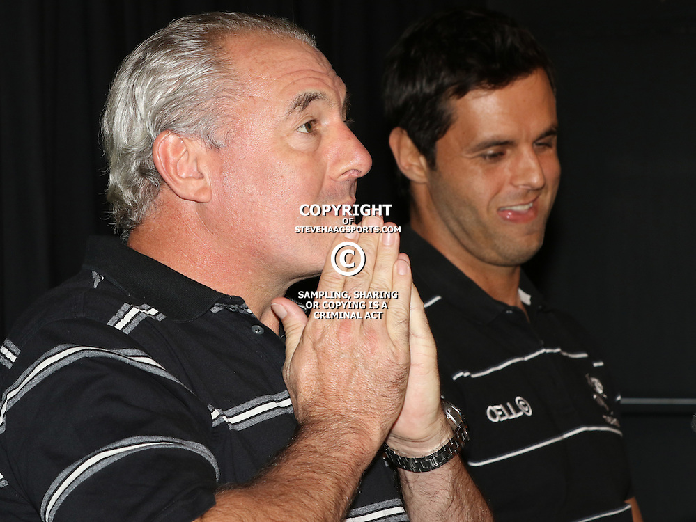 DURBAN, SOUTH AFRICA - MAY 27: Gary Gold (Sharks Director of Rugby) during the Cell C Sharks press conference at Growthpoint Kings Park on May 27, 2015 in Durban, South Africa. (Photo by Steve Haag/Gallo Images)