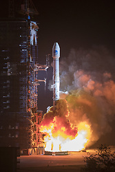 Nov. 19, 2018 - Xichang, China - China sends two new satellites of the BeiDou Navigation Satellite System (BDS) into space on a Long March-3B carrier rocket from the Xichang Satellite Launch Center in southwest China's Sichuan Province. (Credit Image: © Ju Zhenhua/Xinhua via ZUMA Wire)
