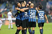 24.10.2017 - Milano - Serie A 2017/18 - 10a giornata  -  Inter-Sampdoria nella  foto: Mauro Icardi esulta dopo il gol del 3 a 0