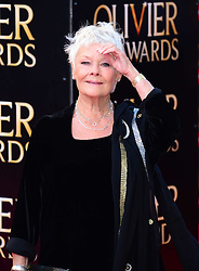 Dame Judi Dench attends The Laurence Olivier Awards at the Royal Opera House, London, United Kingdom. Sunday, 13th April 2014. Picture by Nils Jorgensen / i-Images