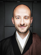 Federico Procopio, buddhist monk (May 2012)