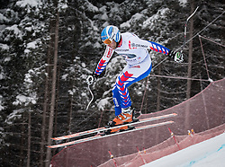 21.02.2013, Kandahar, Garmisch Partenkirchen, AUT, FIS Weltcup Ski Alpin, Abfahrt, Herren, 1. Training, im Bild Brice Roger (FRA) // Brice Roger of France in action during 1st practice of the  mens Downhill of the FIS Ski Alpine World Cup at the Kandahar course, Garmisch Partenkirchen, Germany on 2013/02/21. EXPA Pictures © 2013, PhotoCredit: EXPA/ Johann Groder