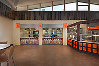 Ohio Interior design image of Heidelberg University Dining Facility in Tiffen Ohio by Jeffrey Sauers of Commercial Photographics, Architectural Photo Artistry in Washington DC, Virginia to Florida and PA to New England