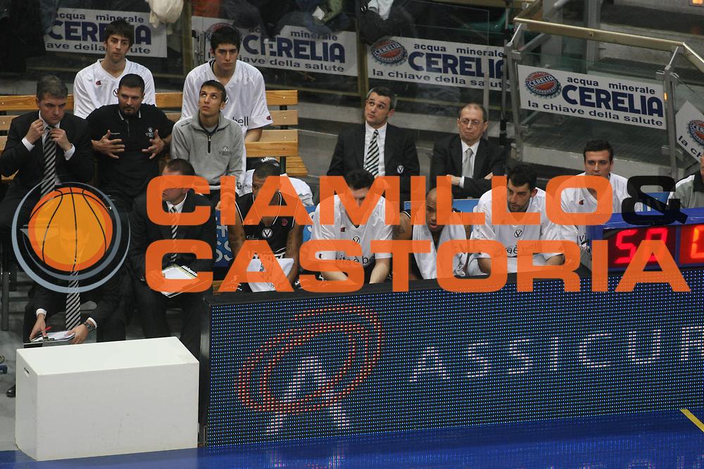 DESCRIZIONE : Bologna Lega A1 2007-08 Upim Fortitudo Bologna La Fortezza Virtus Bologna <br /> GIOCATORE : Team Virtus Bologna <br /> SQUADRA : La Fortezza Virtus Bologna <br /> EVENTO : Campionato Lega A1 2007-2008 <br /> GARA : Upim Fortitudo Bologna La Fortezza Virtus Bologna <br /> DATA : 03/11/2007 <br /> CATEGORIA : Delusione <br /> SPORT : Pallacanestro <br /> AUTORE : Agenzia Ciamillo-Castoria/G.Ciamillo