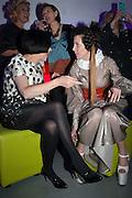 ALICE RAWTHORN; STEFANIA PRAMMA; ;  Pop party. the birthday celebration of twin sisters Valeria Napoleone and Stefania Pramma. Studio Voltaire, London SW4. 17 May 2013.