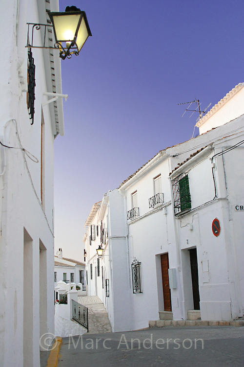 Zuheros, a Spanish White Village (Pueblo Blanco) in the Sierra Subbetica, Andalucia, Spain