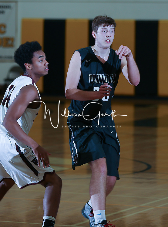 (Photograph by Bill Gerth/ for Max Preps/12/30/15) Union vs Woodcreek in a San Diego Surf and Slam Basketball Tournament at Mission Bay High School, San Diego CA on12/30/15.