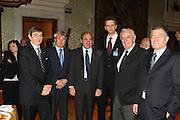 DESCRIZIONE : Roma Palazzo Chigi Commissione FIBA in visita per assegnazione dei Mondiali 2014<br /> GIOCATORE : Boris Stankovic Markus Studar Predrag Bogosavljev Massimo Cilli Ubaldo Livolsi Rocco Crimi<br /> SQUADRA : Fiba Fip<br /> EVENTO : Visita per assegnazione dei Mondiali 2014<br /> GARA :<br /> DATA : 03/04/2009<br /> CATEGORIA : Ritratto<br /> SPORT : Pallacanestro<br /> AUTORE : Agenzia Ciamillo-Castoria/G.Ciamillo<br /> Galleria : Italia 2014<br /> Fotonotizia : Roma visita per assegnazione dei Mondiali 2014<br /> Predefinita :