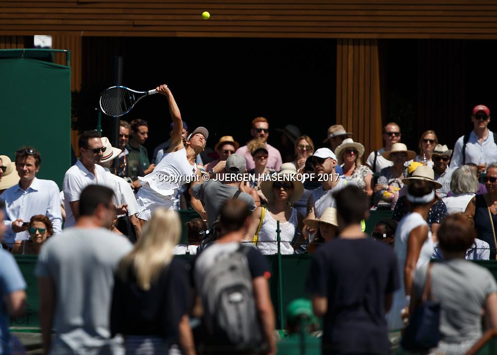 Wimbledon Feature<br /> <br /> Tennis - Wimbledon 2017 - Grand Slam ITF / ATP / WTA -  AELTC - London -  - Great Britain  - 7 July 2017.