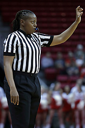 01 November 2017: Lasha Hopson during a Exhibition College Women's Basketball game between Illinois State University Redbirds the Red Devils of Eureka College at Redbird Arena in Normal Illinois.