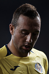 August 31, 2018 - Vila-Real, Castellon, Spain - Santi Cazorla of Villarreal CF looks down during the La Liga match between Villarreal CF and Girona FC at Estadio de la Ceramica on August 31, 2018 in Vila-real, Spain  (Credit Image: © David Aliaga/NurPhoto/ZUMA Press)