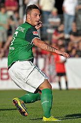 20.07.2010, An der Kreuzeiche, Reutlingen, GER,  SSV Reutlingen vs SV Werder Bremen Targo Bank Cup - Friendly Match  1. FBL 2010  im Bild Marko Arnautovic (Werder #07 )   EXPA Pictures © 2010, PhotoCredit: EXPA/ nph/  Kokenge+++++ ATTENTION - OUT OF GER +++++ / SPORTIDA PHOTO AGENCY