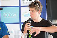 Peter Sagan (SLV). Pre Race Press Conference. 2013 Noosa Triathlon Festival. Cairns, Queensland, Australia. 01/11/2013. Photo By Lucas Wroe
