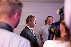 UK ENGLAND LONDON 24JUN16 - UKIP leader Nigel Farage makes an appearance during the referendum night at the Vote Leave party at Millbank Tower, Westminster, London.<br /> <br /> jre/Photo by Jiri Rezac<br /> <br /> © Jiri Rezac 2016