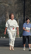 "Battersea. London. GREAT BRITAIN; No. 313. Dame Shirley PORTER, competing in the  Westminster Sport Event, London Race Walking Championships. Battersea Park. 02.08.1991.<br /> <br /> [Mandatory Credit; ""Photo, Peter Spurrier/Intersport-images]"