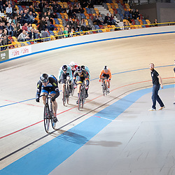 30-12-2018: Wielrennen: NK Baan: Apeldoorn<br />Finale Keirin Harry Lavreijssen pakt de titel