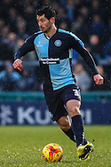 Joe Jacobson of Wycombe Wanderers during the Sky Bet League 2 match at Adams Park, High Wycombe<br /> Picture by David Horn/Focus Images Ltd +44 7545 970036<br /> 26/12/2014