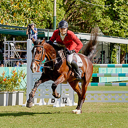 Youth Olympic Games Buenos Aires 2018 Simon Morssinkhof BEL riding  Cheptel Wigan<br /> Photo FEI/Liz Gregg