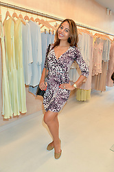 VISCOUNTESS WEYMOUTH at a party to celebrate the re-launch of the Ghost Flagship store at 120 King's Road, London on 15th April 2015.