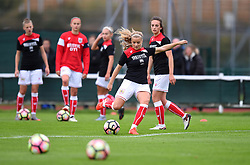 Olivia Fergusson of Bristol City Women during warm-up - Mandatory by-line: Paul Knight/JMP - 30/09/2017 - FOOTBALL - Stoke Gifford Stadium - Bristol, England - Bristol City Women v Yeovil Town Ladies - FA Women's Super League 1