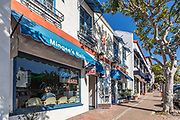 Mingee's Nail Shop on Del Mar Street San Clemente