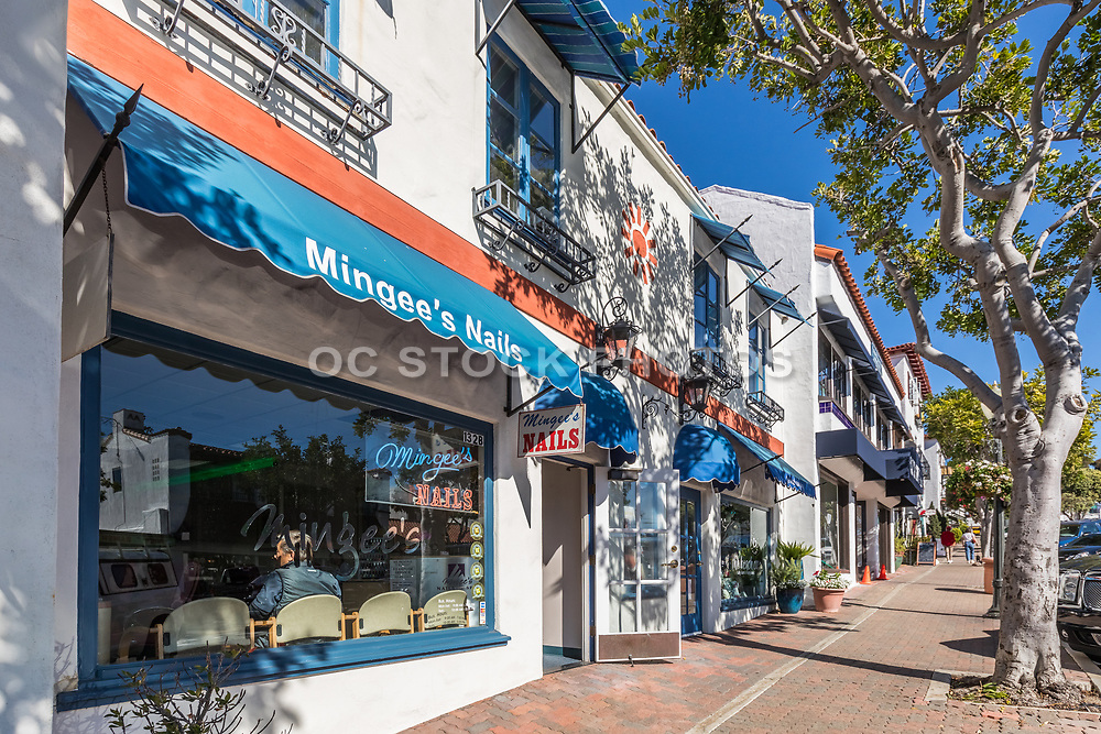 Mingee's Nail Shop on Del Mar Street San Clemente