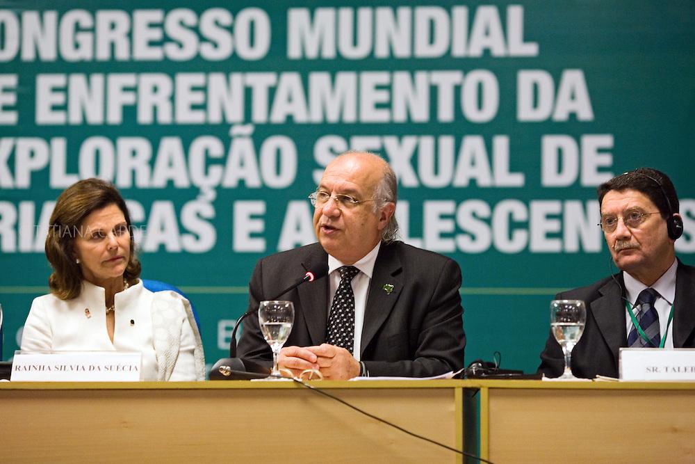 III Congresso Mundial de Enfrentamento da Exploração Sexual de Crianças e Adolescentes - Riocentro, Rio de Janeiro - Brasil (novembro, 2008).