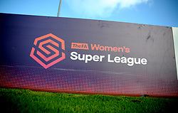 FA Women's Super League branding - Mandatory by-line: Nizaam Jones/JMP - 27/01/2019 - FOOTBALL - Stoke Gifford Stadium - Bristol, England - Bristol City Women v Yeovil Town Ladies- FA Women's Super League 1