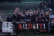 DESCRIZIONE : Treviso Lega A 2011-12 Benetton Treviso Cimberio Varese<br /> GIOCATORE : tifosi cimberio varese<br /> SQUADRA : Benetton Treviso Cimberio Varese<br /> EVENTO : Campionato Lega A 2011-2012 <br /> GARA : Benetton Treviso Canadian Solar Bologna<br /> DATA : 25/04/2012<br /> CATEGORIA : Tifosi<br /> SPORT : Pallacanestro <br /> AUTORE : Agenzia Ciamillo-Castoria/G.Contessa<br /> Galleria : Lega Basket A 2011-2012 <br /> Fotonotizia : Treviso Lega A 2011-12 Benetton Treviso Cimberio Varese<br /> Predfinita :