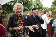ELLEN VON UNWORTH: SASHA LILIC, 2016 SERPENTINE SUMMER FUNDRAISER PARTY CO-HOSTED BY TOMMY HILFIGER. Serpentine Pavilion, Designed by Bjarke Ingels (BIG), Kensington Gardens. London. 6 July 2016