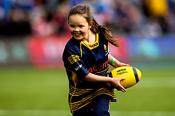Worcester Warriors half time activity - Mandatory by-line: Robbie Stephenson/JMP - 28/04/2019 - RUGBY - Sixways Stadium - Worcester, England - Worcester Warriors v Gloucester Rugby - Gallagher Premiership Rugby