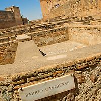 Alberto Carrera, Plaza de las Armas, Barrio Castrense, Alcazaba, La Alhambra, UNESCO World Heritage Site, Granada, Andalucía, Spain, Europe