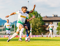 17.07.2019, Kufstein Arena, Kufstein, AUT, Testspiel, Borussia Moenchengladbach vs Istanbul Basaksehir FC, im Bild Keanan Bennetts (Borussia Mönchengladbach) // during a test match for the upcoming Season between Borussia Moenchengladbach and Istanbul Basaksehir FK at the Kufstein Arena in Kufstein, Austria on 2019/07/17. EXPA Pictures © 2019, PhotoCredit: EXPA/ Stefan Adelsberger