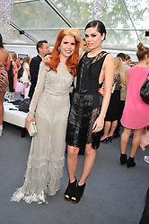 Left to right, PALOMA FAITH and JESSIE J at the Glamour Women of the Year Awards 2012 in association with Pandora held in Berkeley Square Gardens, London W1 on 29th May 2012.