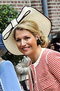 Beatrix opent tentoonstelling M&aacute;xima, 10 jaar in Nederland.//<br /> Queen Beatrix opens the exibition Maxima 10 years in the Netherlands<br /> <br /> Op de foto:<br /> <br /> Prinses Maxima / Princes Maxima