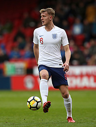 England U21's Joe Worrall during the UEFA European U21 Championship Qualifying, Group 4 match at Bramall Lane, Sheffield. PRESS ASSOCIATION Photo. Picture date: Tuesday March 27, 2018. See PA story SOCCER England U21. Photo credit should read: Mike Egerton/PA Wire. RESTRICTIONS: Use subject to FA restrictions. Editorial use only. Commercial use only with prior written consent of the FA. No editing except cropping.