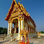 Wat Si Matratbamrung at  Pak Chong (Nakorn Ratchasima) in Thailand.  View is March 2007.