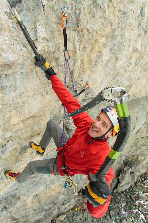 Mixed Climbing Will Gadd New Route