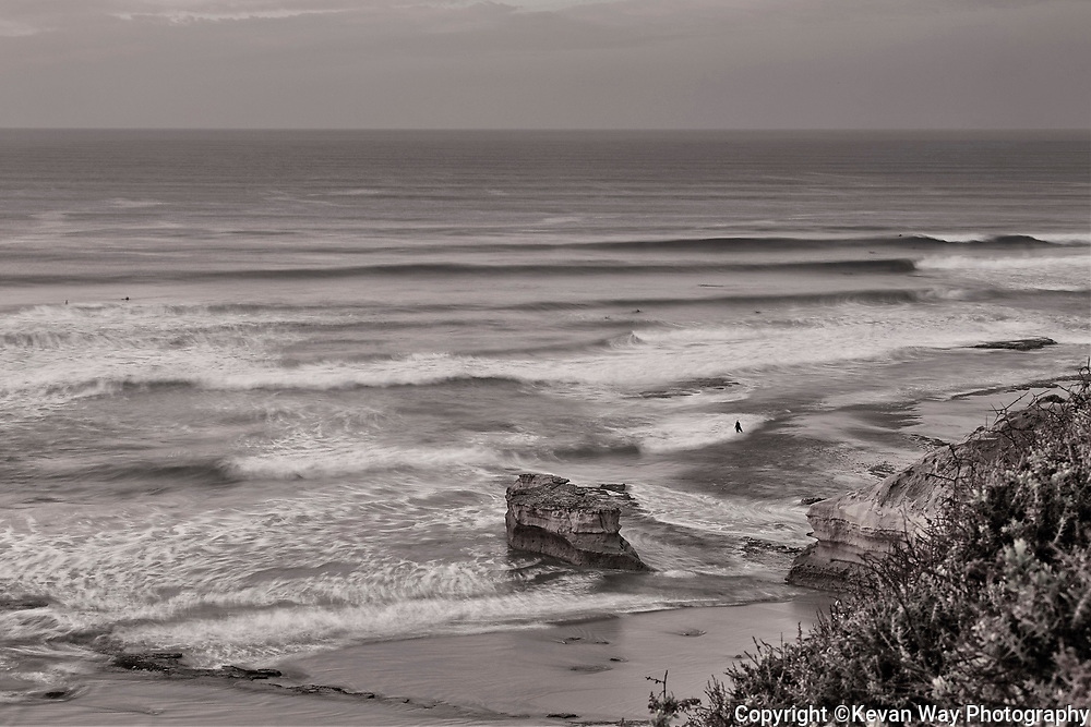 autumn swell at Bird Rock